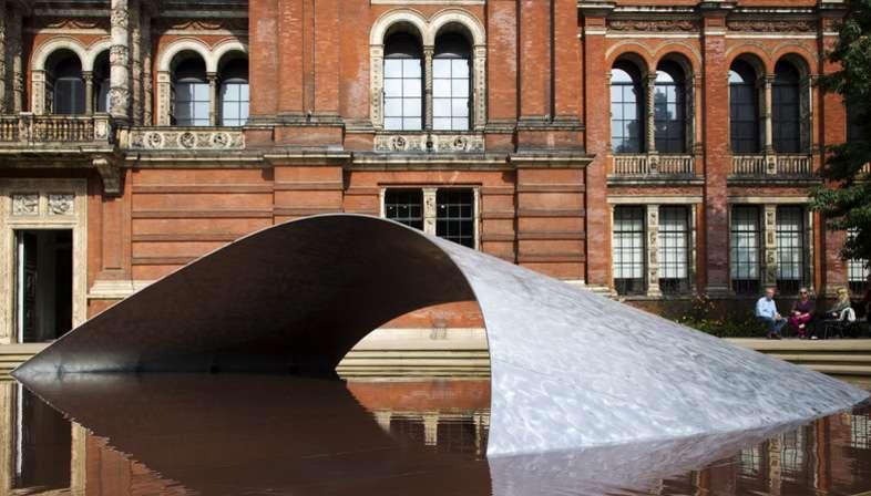 Zaha Hadid Architects, Installation Crest au London Design Festival