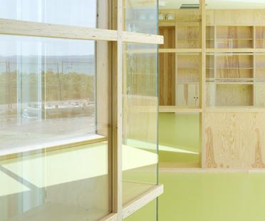 Le cabinet Dorte Mandrup Arkitekter signe la garderie de Råå en Suède