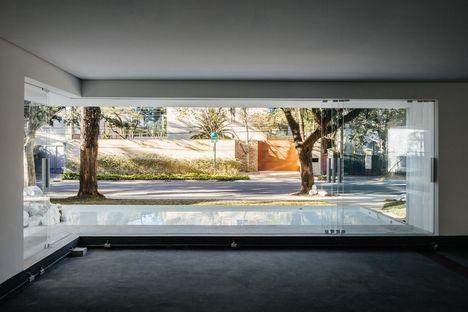 Triptyque et la galerie commerciale Groenlândia à São Paulo