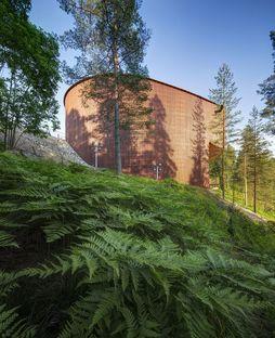 Lahdelma & Mahlamäki signe le Finnish Nature Centre Haltia à Espoo