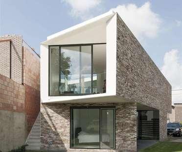 House K de Graux & Baeyens, maison patio à Buggenhout (Belgique)