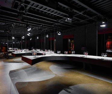 SuperSurfaceSpace Gallery du groupe Iris, projet Metrogramma, Moscou