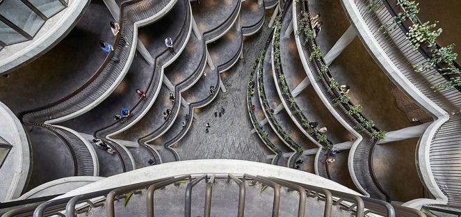 Heatherwick Learning Hub, université de technologie de Nanyang, Singapour