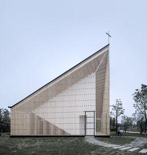 Le cabinet AZL Architects réalise la Nanjing Wanjing Garden Chapel