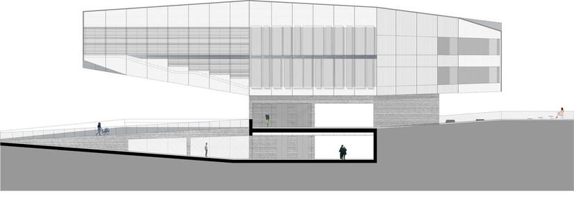 Mateo Arquitectura : centre culturel de Castelo Branco (Portugal)