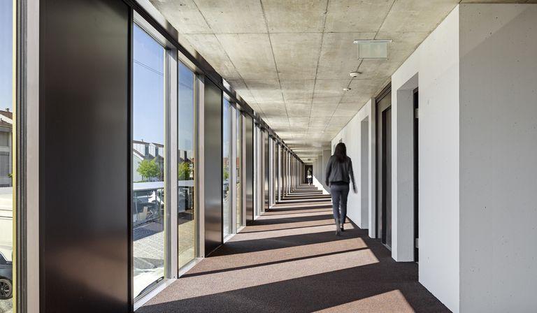 2b Architectes: uffici Jolimont Nord a Mont-sur-Rolle