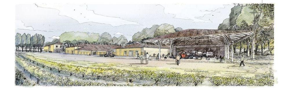 Foster+Partners agrandit et rénove le domaine de Château Margaux