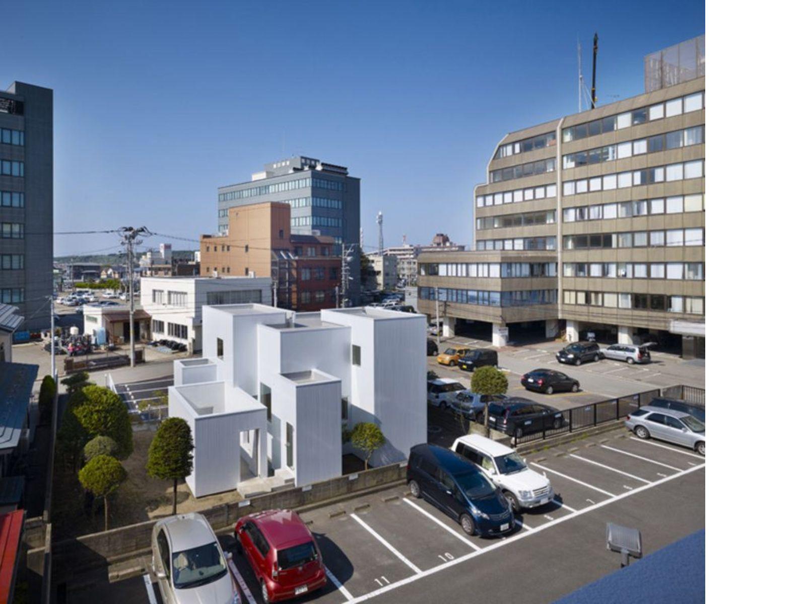 Japon, que voir ?  Les maisons en ville