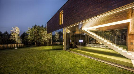 Konieczny – KWK Promes et la Living-garden house, Pologne