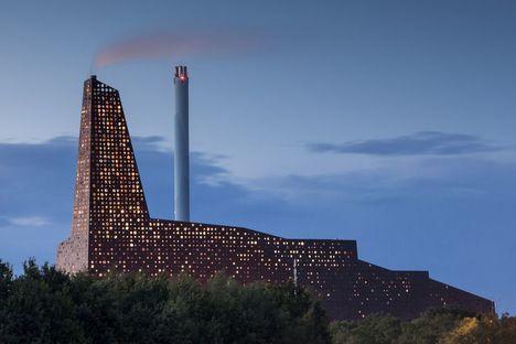 Erick van Egeraat réalise le nouvel incinérateur de déchets de Roskilde