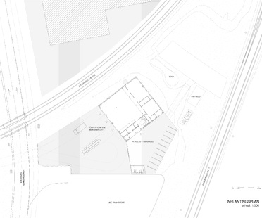 Bovenbouw : nouvelle caserne de pompiers à Berendrecht