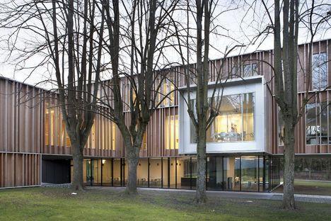 V+ e Bouwtechniek: ampliamento municipio Montigny-Le-Tilleul