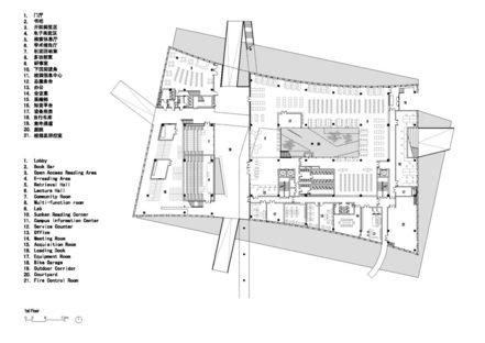 Urbanus et la bibliothèque universitaire de la SUST à Shenzhen
