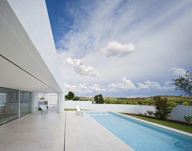 Alberto Campo Baeza et le Raumplan pour une maison à Madrid