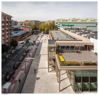 Bárcena y Zufiaur rénove le marché alimentaire de Vitoria
