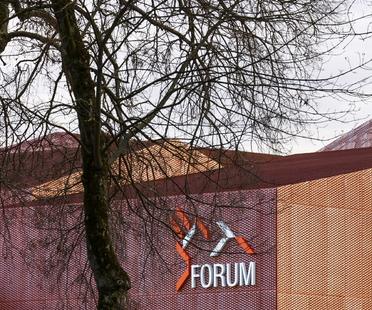 Manuelle Gautrand signe le Forum de Saint-Louis en Alsace