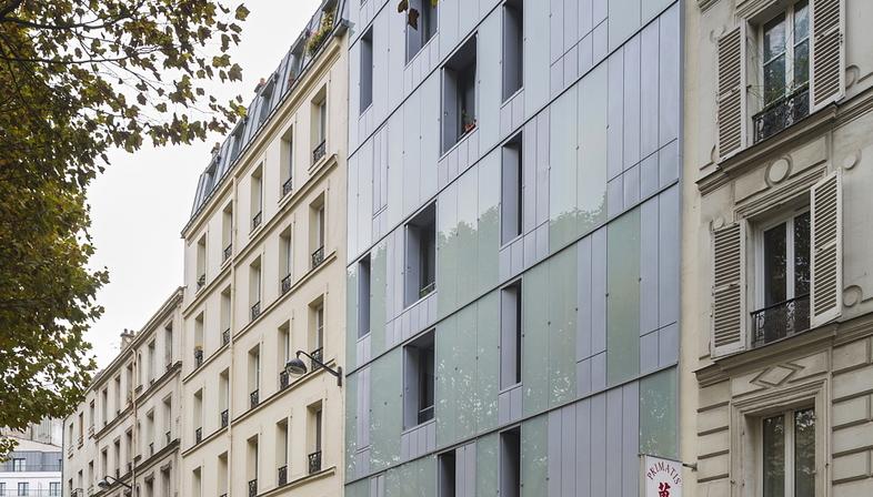InSpace Architecture réalise à Paris des logements sociaux et un centre d'aide familiale