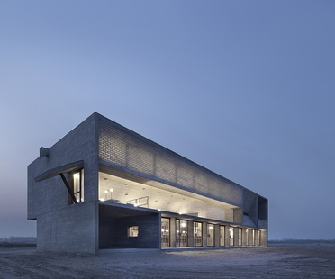 Vector Architects et la Seashore Library sur la plage (Chine)