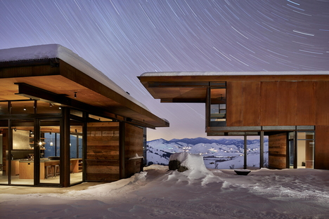 Olson Kundig, l'anti-refuge Studhorse, Methow Valley (Etats-Unis)