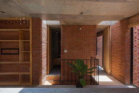 LT house de Tropical Space au Vietnam