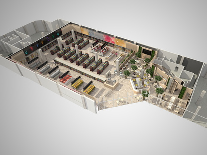 Area 17, INRES et Carlo Ratti: Supermarché du futur Bicocca, Milan