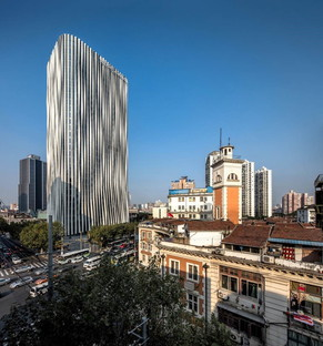 Kengo Kuma: de nouveaux bureaux Hongkou Soho à Shanghai