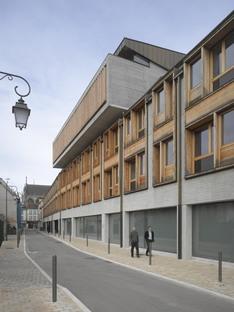 Linazasoro Sanchez : centre administratif et des congrès de Troyes