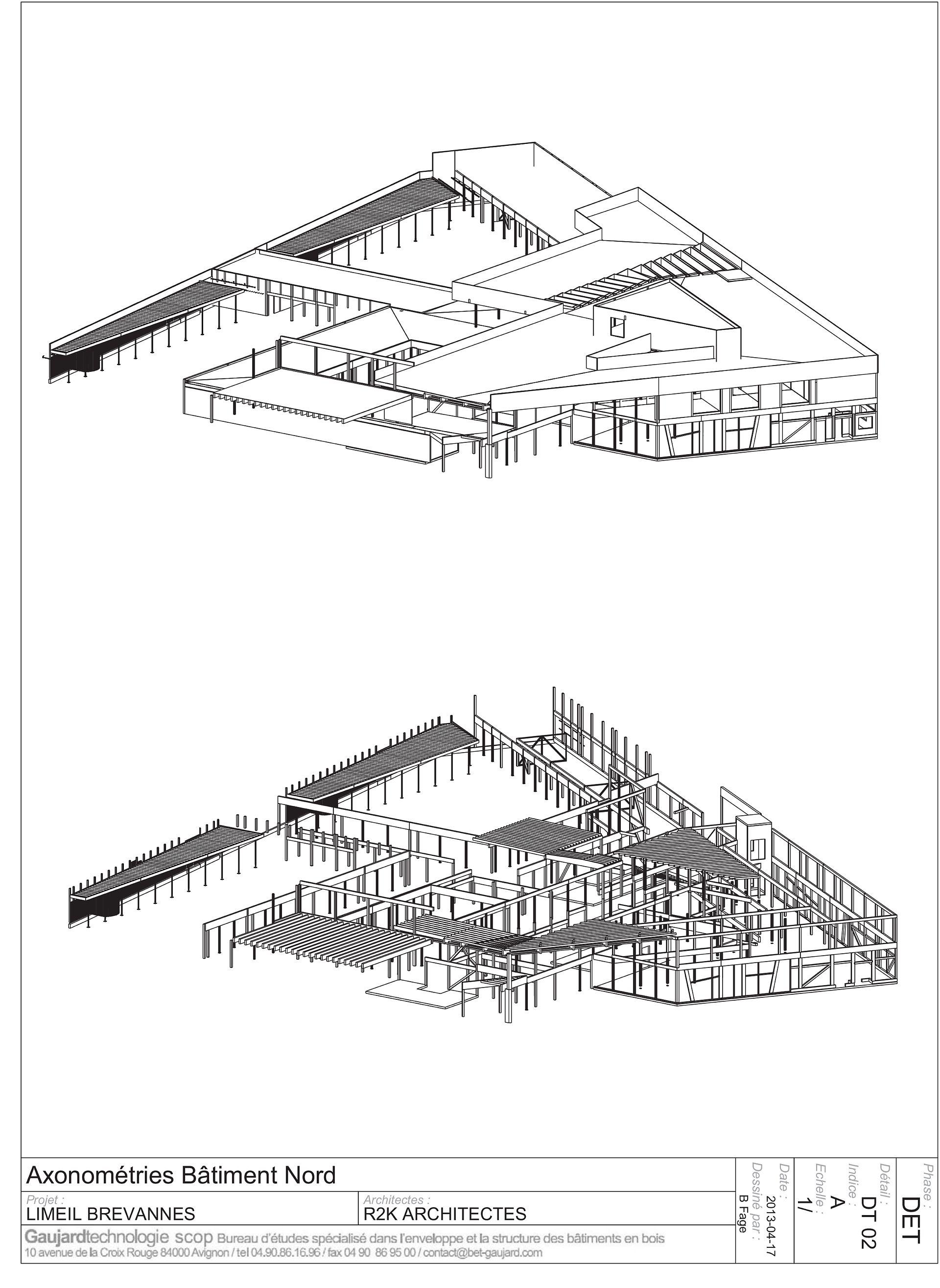 r2k architectes : groupe scolaire Pasteur à Limeil-Brévannes