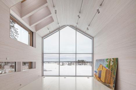 OOPEAA : maison Riihi à Alajärvi (Finlande)