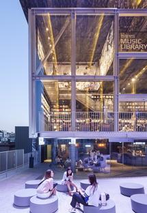 Moongyu Choi + Ga.A Architects : H Music Library à Séoul