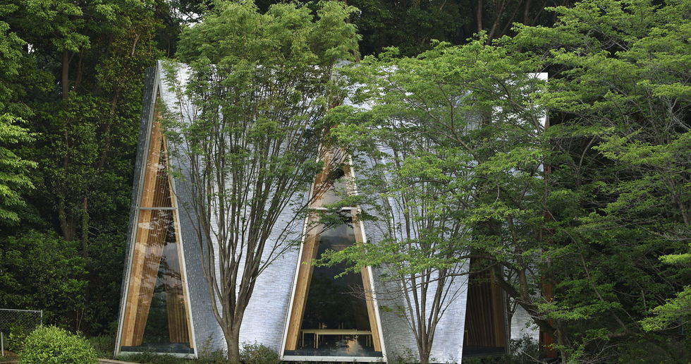Nakamura & NAP : la Sayama Forest Chapel et la structure gassho