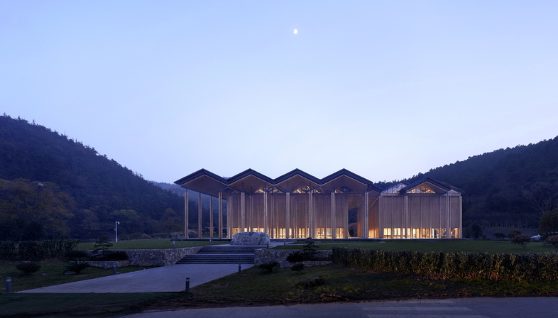 AZL Architects réalise en Chine le Shitang Village Internet Conference Center