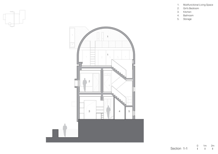 Vector Architects: restructuration de la maison du Capitaine