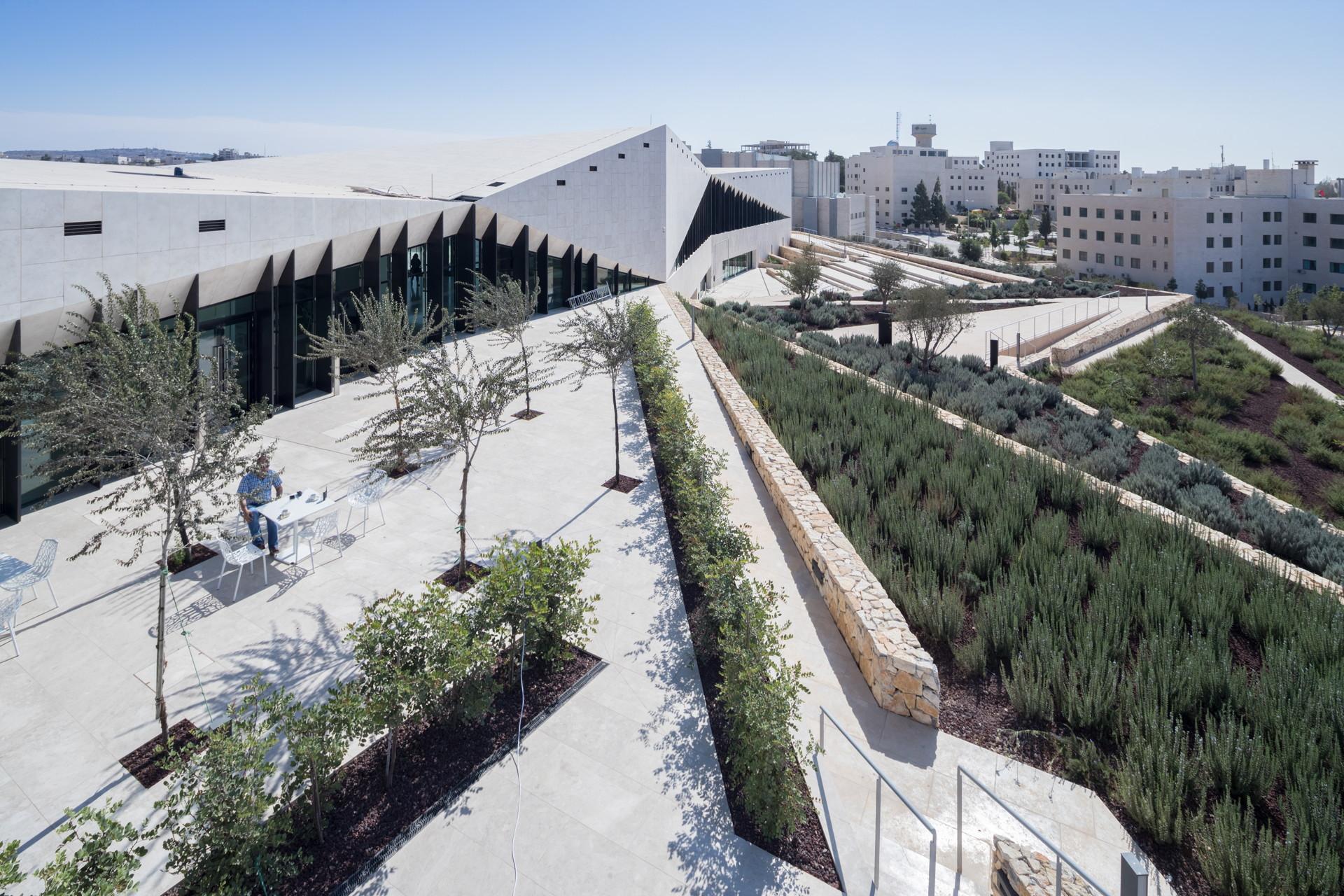 Heneghan Peng Architects : le musée de la Palestine à Bir Zeit