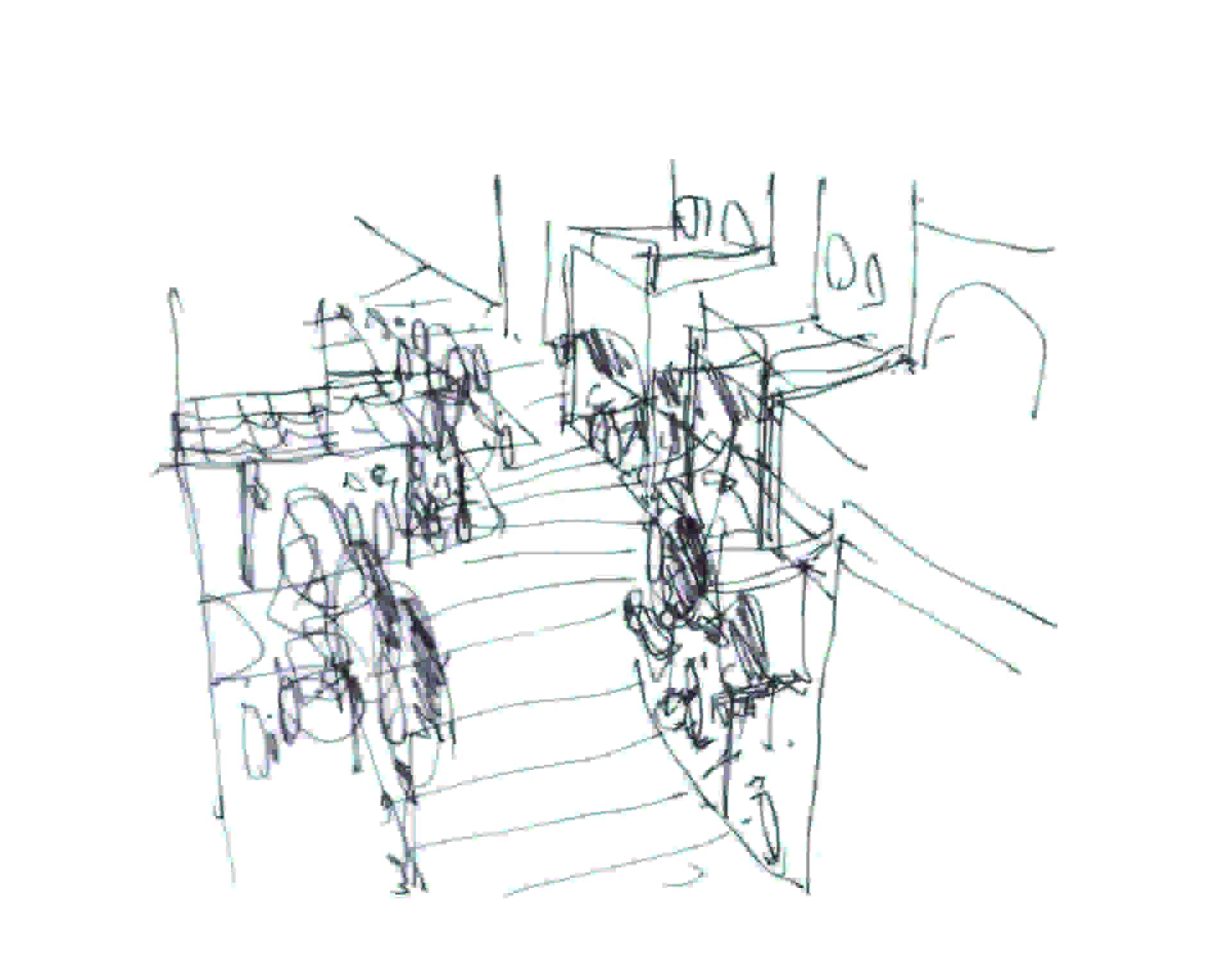 Lombardini22 réalise la nouvelle entrée et la nouvelle aire de restauration de l'outlet de Valmontone