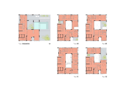 AGi Architects signe Wafra Vertical Housing, la tour du vent à Salmiya