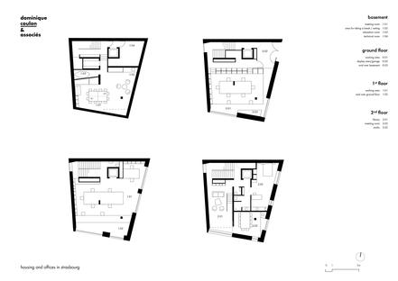 Dominique Coulon : immeuble de bureaux et de logements à Strasbourg