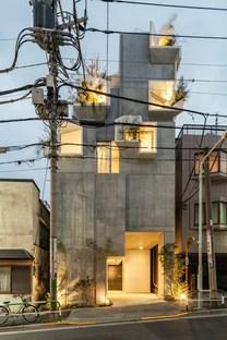 Akihisa Hirata signe la Tree-ness house, une maison et galerie d'art à Tokyo