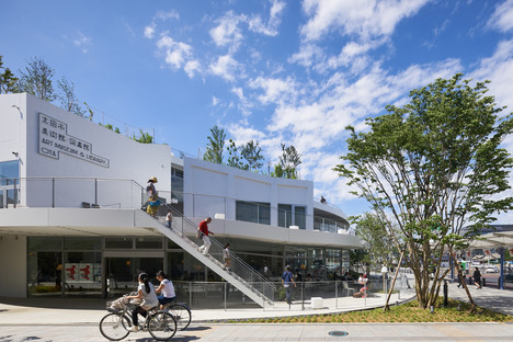 Akihisa Hirata : Art Museum and Library Ota, Japon