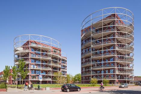 Mecanoo architecten : plan directeur de Villa Industria à Hilversum
