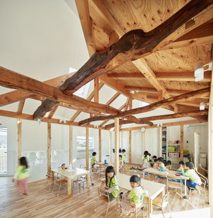 MAD Architects signe la Clover House, une école maternelle à Okazaki (Japon)