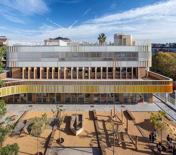 b720 Fermín Vázquez : maternelle du Lycée français de Barcelone