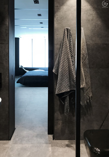 33 by architecture réalise Black is back, un appartement à Kiev