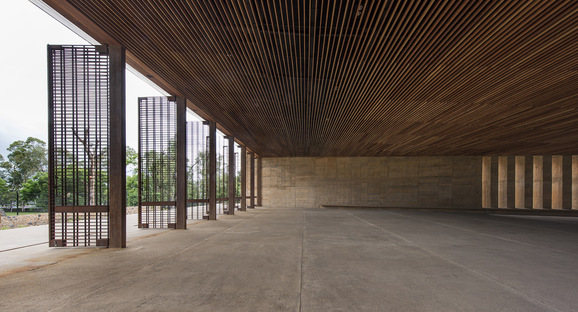 Isaac Broid + PRODUCTORA : Teopanzolco Cultural Center, Cuernavaca
