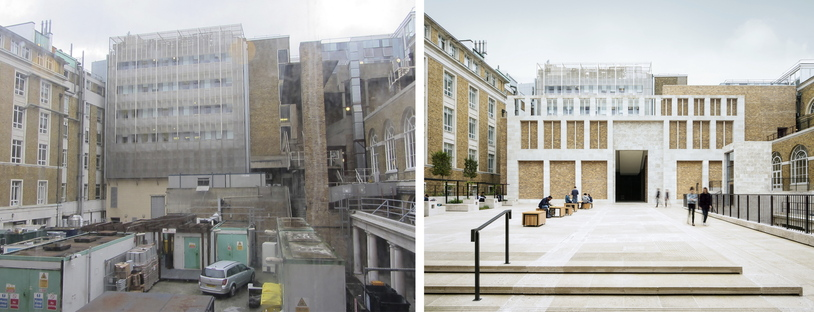 Levitt Bernstein signe la Wilkins Terrace à l'University College de Londres