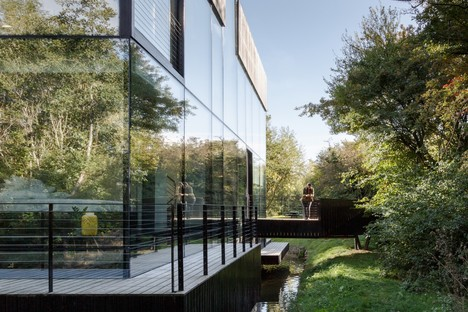Mecanoo signe le projet Glass Villa on the Lake