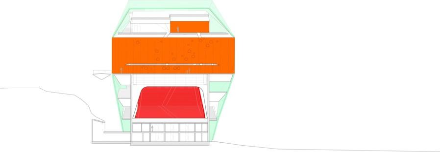 Selgascano signe le centre de conférence et l'auditorium de Plasence