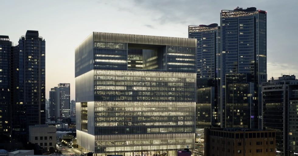 David Chipperfield Architects signe le nouveau siège d'Amorepacific à Séoul