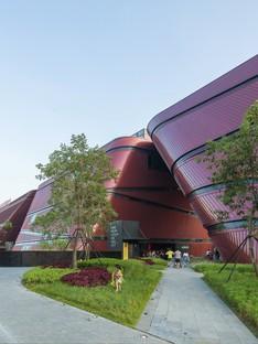 Centre culturel de Longgang signé Mecanoo