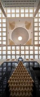Dar Arafa Architecture signe la mosquée d'Abu Stait à Basuna (Égypte)